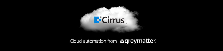 An image of a cloud with the GMCirrus™ logo